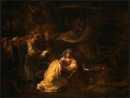 The Circumcision, 1661 by Rembrandt | Painting Reproduction