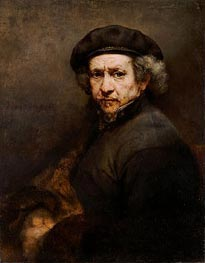 Self-Portrait, 1659 by Rembrandt | Painting Reproduction