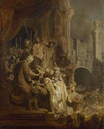 Ecce Homo | Rembrandt | Gemälde Reproduktion