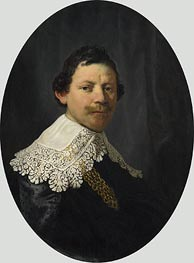 Portrait of Philips Lucasz. | Rembrandt | Gemälde Reproduktion