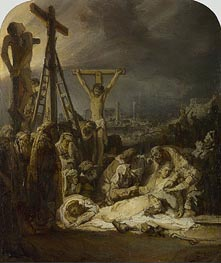 The Lamentation over the Dead Christ | Rembrandt | Gemälde Reproduktion