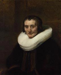 Portrait of Margaretha de Geer, Wife of Jacob Trip | Rembrandt | veraltet