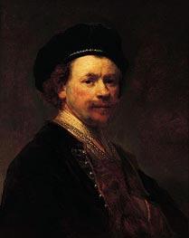 Self-Portrait | Rembrandt | Gemälde Reproduktion