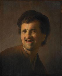Laughing Young Man (Self Portrait) | Rembrandt | veraltet