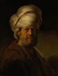 An Oriental | Rembrandt | Gemälde Reproduktion