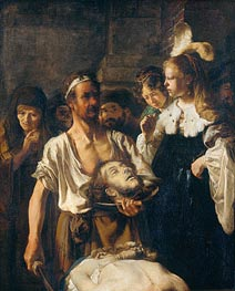 The Beheading of John the Baptist, 1645 by Rembrandt | Painting Reproduction