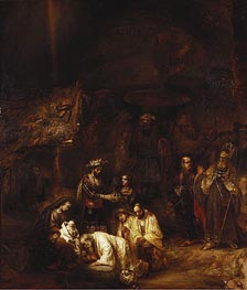 The Adoration of the Magi, c.1657 by Rembrandt | Painting Reproduction