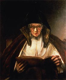 Old Woman Reading | Rembrandt | veraltet