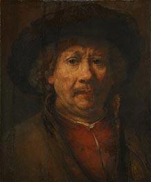 Self Portrait, c.1655/57 von Rembrandt | Gemälde-Reproduktion