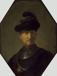Old Warrior, c.1630 von Rembrandt | Gemälde-Reproduktion