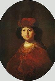 Portrait of a Boy, c.1633/34 von Rembrandt | Gemälde-Reproduktion