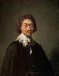 Portrait of Maurits Huygens, 1632 von Rembrandt | Gemälde-Reproduktion
