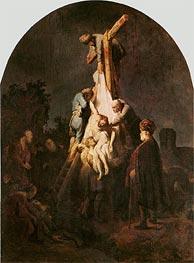 The Deposition, 1633 von Rembrandt | Gemälde-Reproduktion