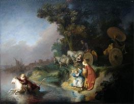 The Rape of Europe, Undated von Rembrandt | Gemälde-Reproduktion