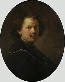 Self Portrait, 1633 von Rembrandt | Gemälde-Reproduktion