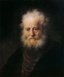 Portrait of an Old Man, 1632 von Rembrandt | Gemälde-Reproduktion
