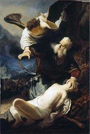 Die Opferung Isaaks, 1636 von Rembrandt | Gemälde-Reproduktion
