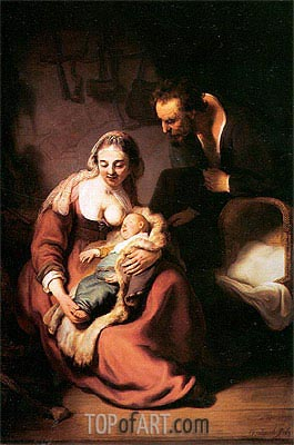 Rembrandt | The Holy Family, c.1630