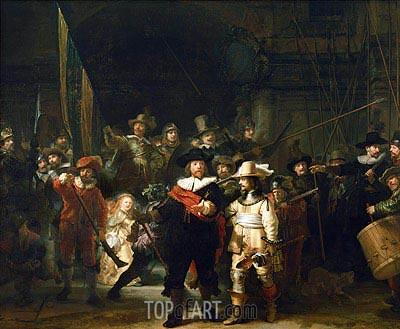 Rembrandt | The Night Watch, 1642