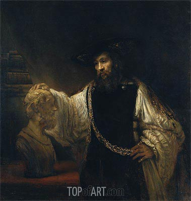 Rembrandt | Aristotle with a Bust of Homer, 1653
