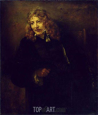 Portrait of Nicolaes Bruyningh, 1652 | Rembrandt | Painting Reproduction