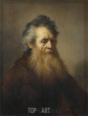 Portrait of an Old Man, 1632 | Rembrandt | Gemälde Reproduktion