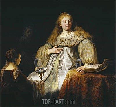 Rembrandt | Artemis, 1634