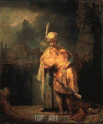 Rembrandt | David and Jonathan, 1642