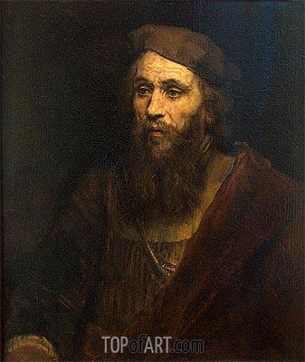 Rembrandt | Portrait of a Man, 1661