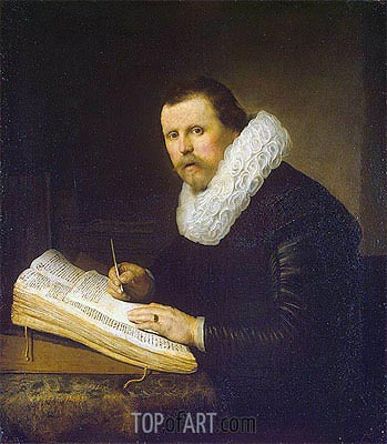 Portrait of a Scholar, 1631 | Rembrandt| Painting Reproduction