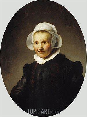 Portrait of Aeltje Uylenburgh, 1632 | Rembrandt | Gemälde Reproduktion