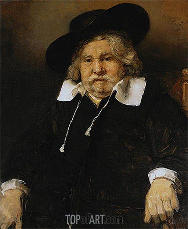 Portrait of an Elderly Man, 1667 | Rembrandt| Painting Reproduction