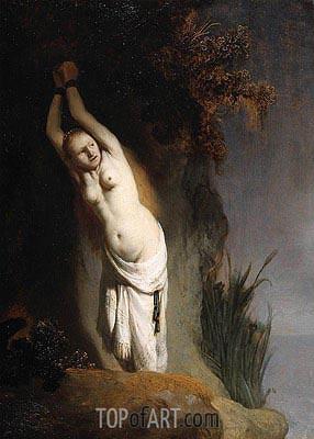 Andromeda, c.1631 | Rembrandt | Gemälde Reproduktion
