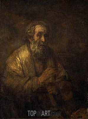 Homer, 1663 | Rembrandt | Painting Reproduction