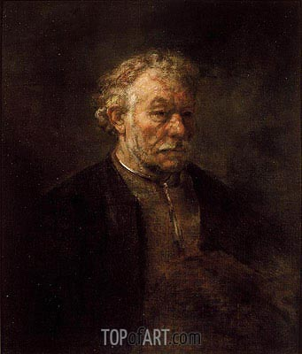 Portrait of Older Man, 1650 | Rembrandt | Painting Reproduction