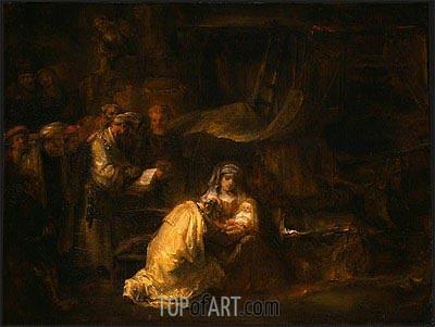 Rembrandt | The Circumcision, 1661