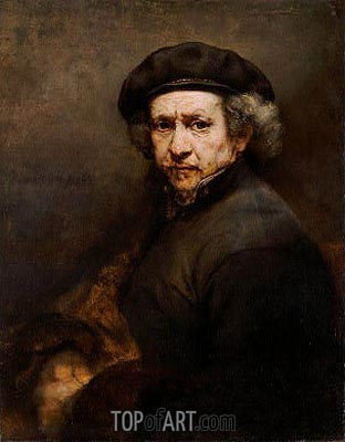 Self-Portrait, 1659 | Rembrandt | Gemälde Reproduktion