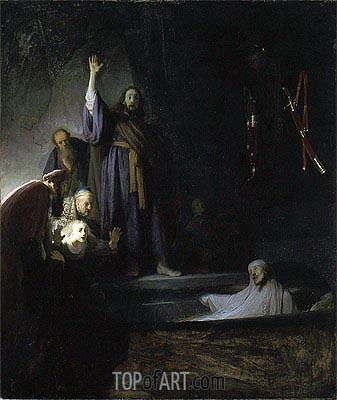 Rembrandt | The Raising of Lazarus, c.1630