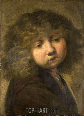 Young Cup, 1643 | Rembrandt | Painting Reproduction