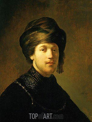 Rembrandt | A Young Man Wearing a Turban, 1631