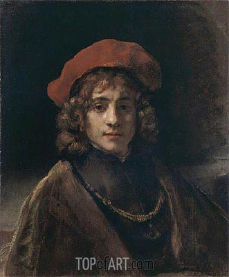 Titus, the Artist's Son, c.1657 | Rembrandt | Painting Reproduction
