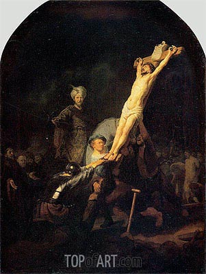 Crucifixion, c.1633 | Rembrandt| Painting Reproduction
