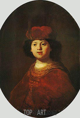 Portrait of a Boy, c.1633/34 | Rembrandt| Gemälde Reproduktion