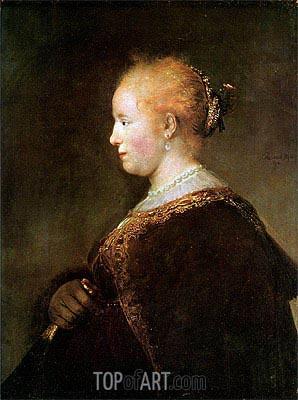 Rembrandt | Portrait of a Young Woman, 1632