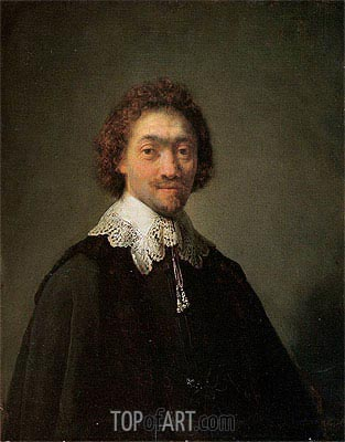 Portrait of Maurits Huygens, 1632 | Rembrandt| Painting Reproduction