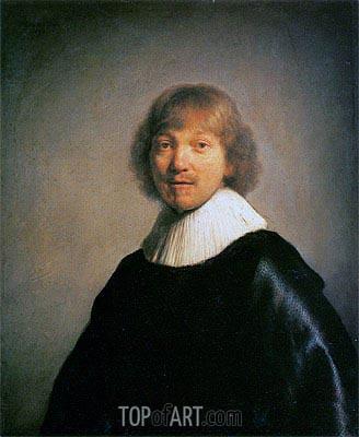Rembrandt | Portrait of the Painter Jacques de Gheyn III, 1632