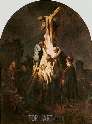 The Deposition, 1633 | Rembrandt | Painting Reproduction