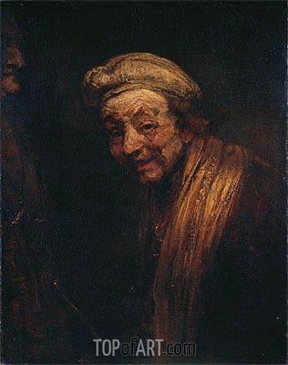 Rembrandt | Self Portrait, c.1668/69