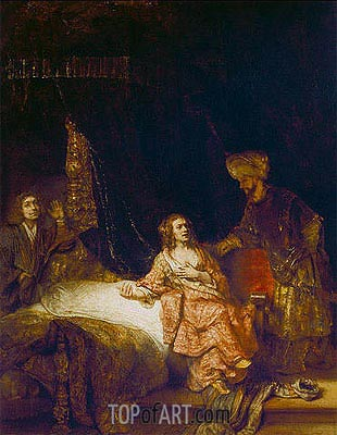 Rembrandt | Joseph Accused by Potiphar's Wife, 1655