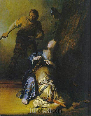 Rembrandt | Samson and Delilah, c.1628